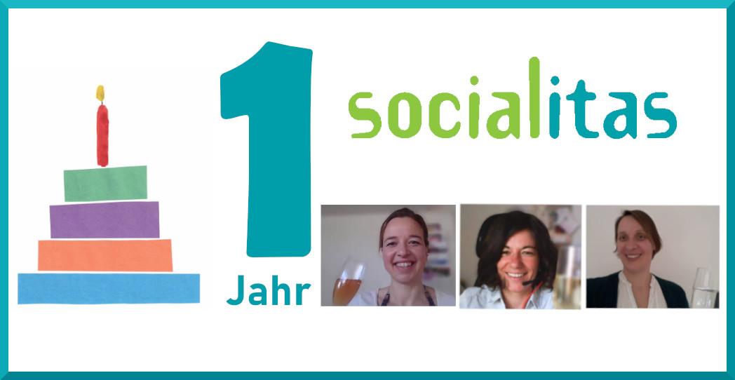 Ein Jahr Socialitas