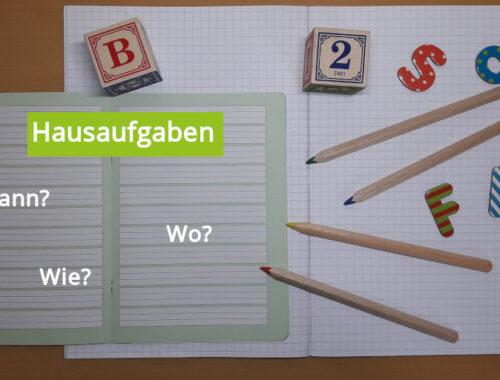 Hausaufgaben - Wie gestalten?